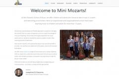 Web copy: Mini Mozarts