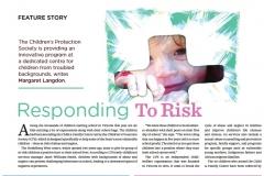 Feature article: parenting magazine