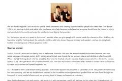 Web copy: Awebit Apparel- About Us