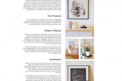 Web copy: Pint Size Property Styling - How it works